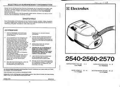 Vacuum Cleaner Electrolux Ingenio electrolux z 2570 ingenio vacuum cleaner manual for free now 26b56 u manual