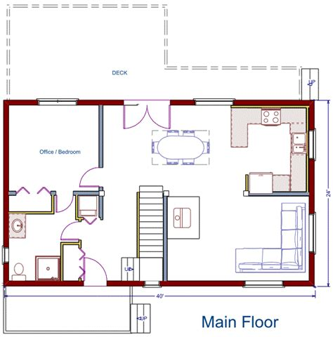 24x40 house plans house plans for 24x40 house with loft joy studio design
