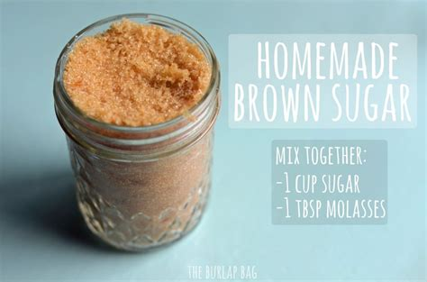 how to make brown sugar homestead survival