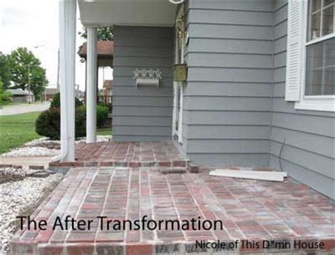 Brick Porch Floor by Brick Floor Porch Addition Project