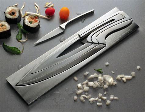 awesome kitchen knives deglon meeting nested knife set the green head