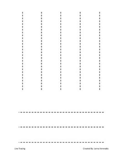printable worksheets tracing lines preschool line tracing worksheet fine motor writing