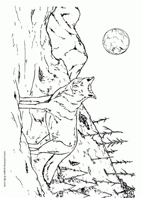 printable coloring pages wolf get this free printable wolf coloring pages 90317