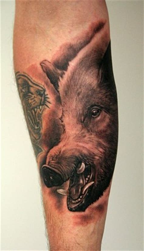 hog hunting tattoo designs varken henk boar cool tattoos