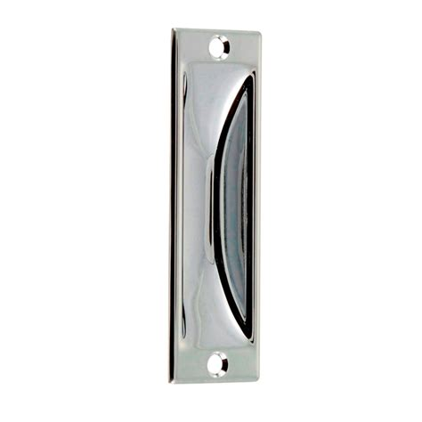 Bunnings Cabinet Handles by Nelson Flush Pull 140mm Bunnings Warehouse