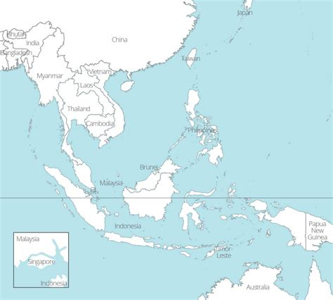 map of southeast 8 free maps of asean and southeast asia asean up