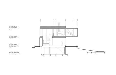 small section galeria de o chal 233 quot blanche quot acdf architecture 15