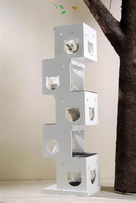 5 stylish modern cat trees for design lovers unique cat trees you ll simply love the designs hubpages