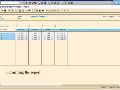 Sap Tutorial Report Painter | sap report painter tutorial
