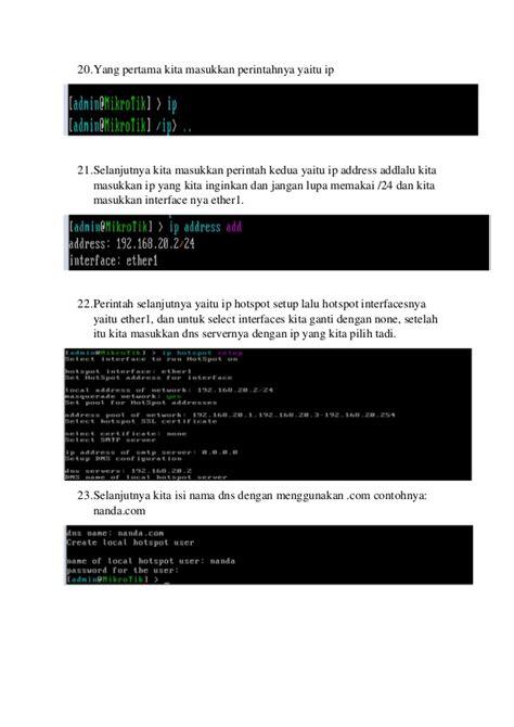 cara membuat hotspot dengan mikrotik rb450 tutorial cara membuat hotspot di mikrotik dengan vmware