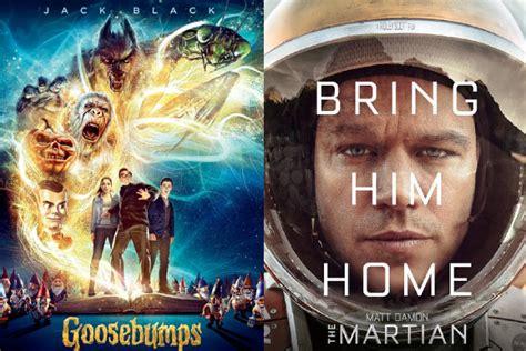 film terbaru goosebumps goosebumps sukses geser posisi the martian di puncak