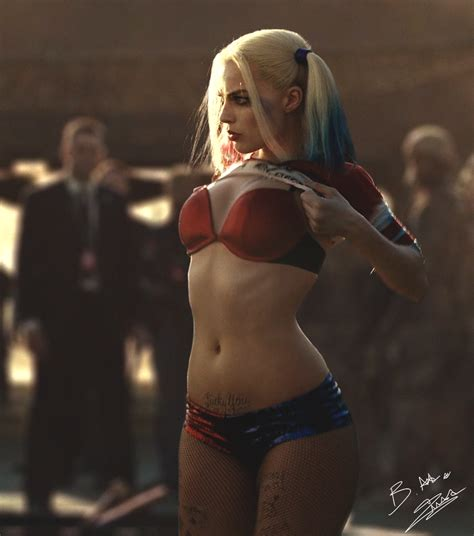 Harley Quinn Suicide Squad By Axzlrose On Deviantart