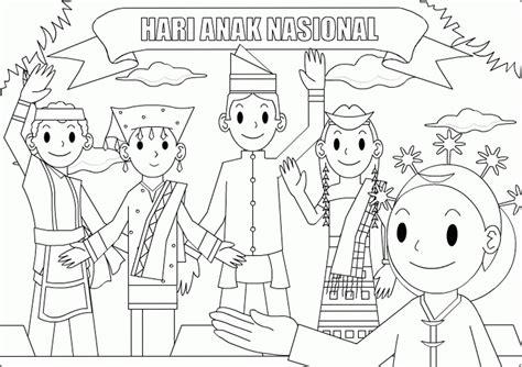 Upin Ipin Mengenal Olahraga 10 mewarnai gambar belajar di sekolah