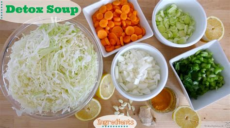 Gluten Free Detox Soup by Detox Soup To Make You Feel Awesome Recipe Vegan