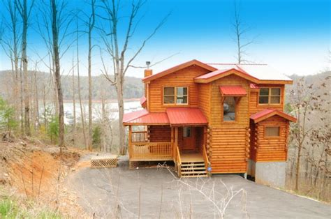 Lakefront Cabins For Sale In Tennessee by Norris Lake Cabin House For Sale At Overlook Bay Norris