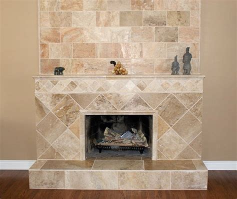 Travertine Fireplace House Pinterest Travertine Fireplace Hearth