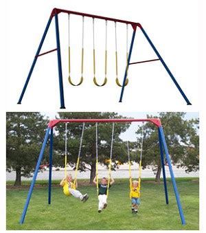 residential swing sets swing sets a frame residential 3 swing playground