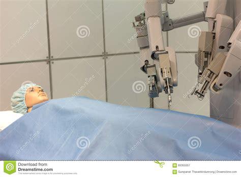 experimental design robotics robotic arms performing experimental surgery on human