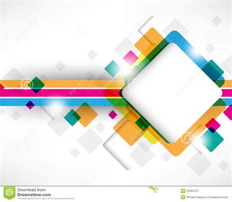 design is square multicolor box square design stock vector illustration
