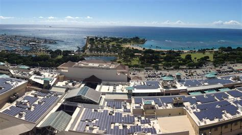ala moana center completes one of hawaii s largest rooftop