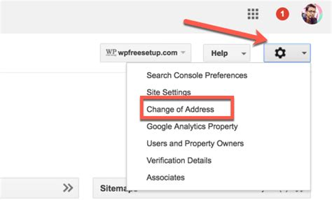 How To Change Address On Search Changing Domain Names Learn How To Tell About Site Address Change