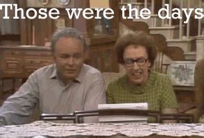 all in the family those were the days image those were the days gif gif disney create wiki