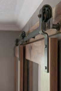 Diy Bypass Barn Door Hardware Barn Door Hardware Bypass Doors On A Single Rail This Would Work To Replace The Closet Doors
