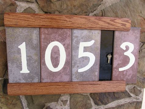 Handmade House Numbers - diy house number plaque www imgkid the image kid