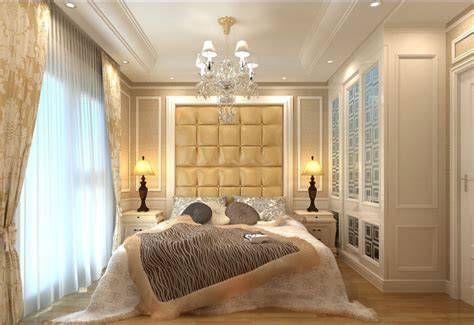 opulent lighting fixtures for a luxury home decor bedroom interior design with bed chandelier and bedside