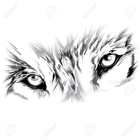 red eyes clipart wolf eyes pencil and in color red eyes