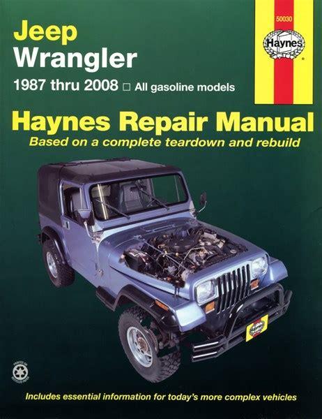 online car repair manuals free 2009 jeep wrangler electronic toll collection haynes reparationshandbok jeep wrangler universal 28 35 skruvat com car parts