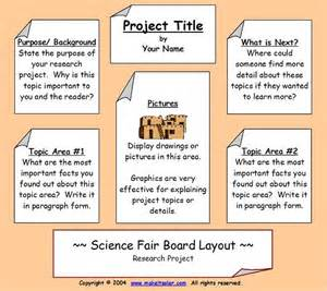 Science Fair Research Paper Ideas by Science Fair Information Science Fair Project Display