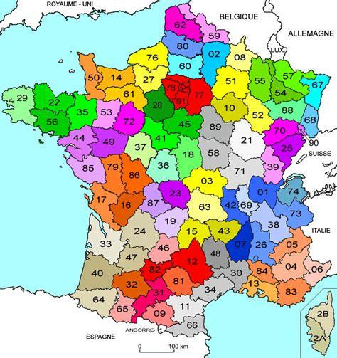 carte de france departement carte de france departement