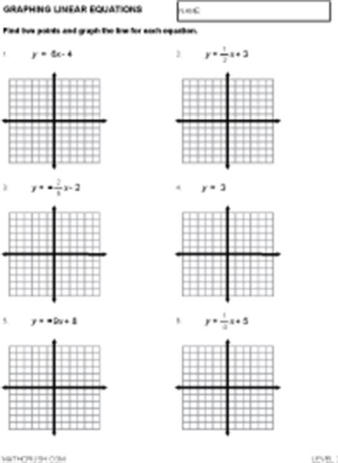 Graphing Linear Equations Worksheet Pdf by Worksheets By Math Crush Graphing Coordinate Plane