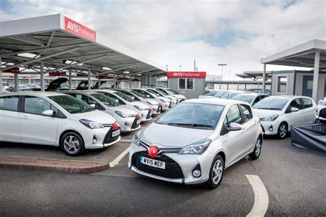 Car Rental Types Avis by Yaris Hybrid A Capital Solution For Avis S Car