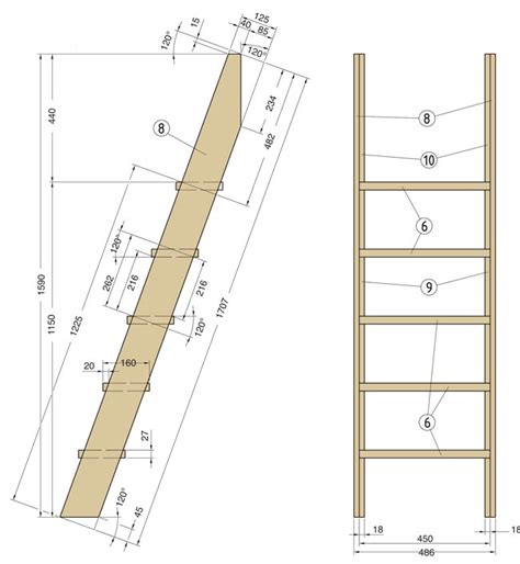 scale per letti a ikea costruire un letto a soppalco fai da te con scrivania dedicata