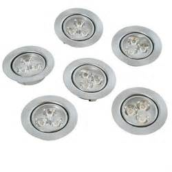 outdoor puck lights 6 light in kit led 3w low voltage recessed puck light