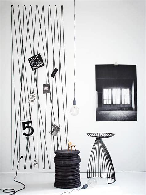 Wand Mit Fotos by Pinnwand Und Kunstwerk In Einem Bild 2 Sch 214 Ner Wohnen