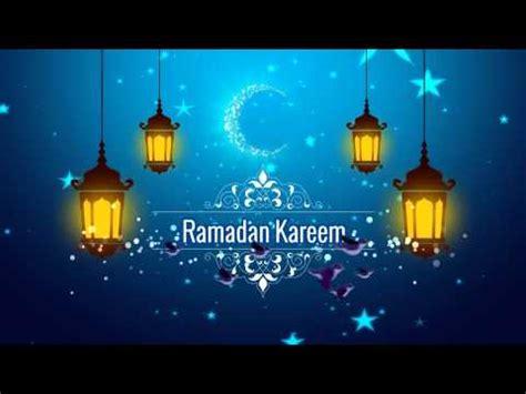 template after effects ramadan ramadan kareem youtube