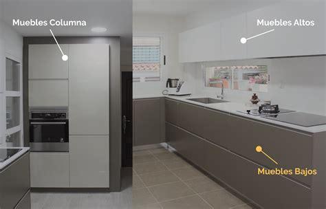 los muebles bajos en la cocina kitchen  cocinas