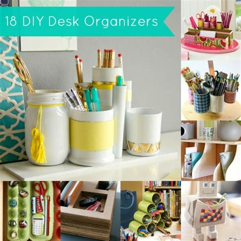 desk ideas diy diy desk organizer 18 project ideas diycandy com