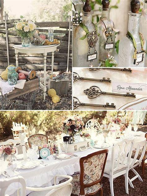 decoracion vintage para boda ideas originales vintage para decorar tu boda a 241 os 20