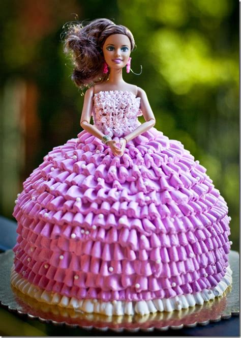 How To Decorate Cakes At Home by Barbie Doll Cake Let The Baking Begin