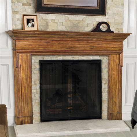 Pearl Mantels Hermitage Traditional Fireplace Surround at