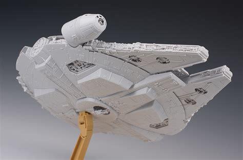 1 144 Millenium Falcon The Awakens detailed review bandai x wars the awakens 1 144 millennium falcon no 52 big