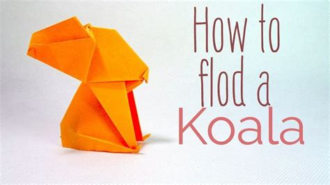 How To Make A Origami Koala - best 25 origami koala ideas on cat origami
