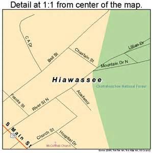 hiawassee map 1338124