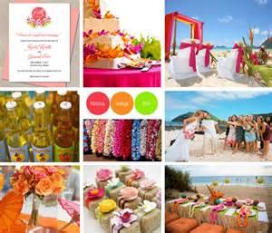 hawaiian theme wedding aloha hawaiian wedding toronto wedding invitations