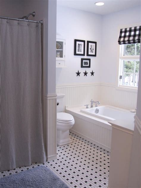 black  white bathroom designs hgtv