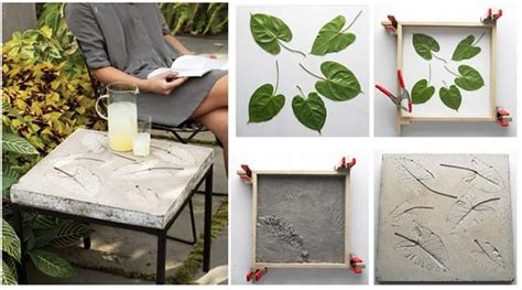 concrete craft projects 28 highly creative diy concrete projects for your household